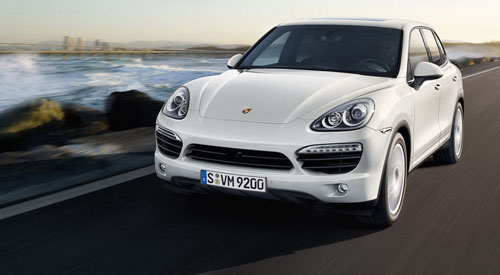 Aventura Business Monthly August 2011 Automobile Feature: 2011 Porsche Cayenne Hybrid.